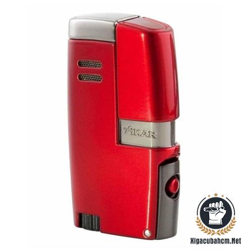 Bật lửa xì gà Xikar Vitara màu đỏ - xigacubahcm.net