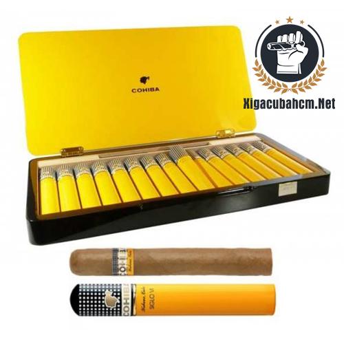 Xì gà Cohiba Siglo VI Tubos – Hộp 15 điếu - xigacubahcm.net