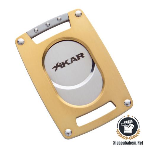 Dao cắt xì gà Xikar siêu mỏng Gold - xigacubahcm.net