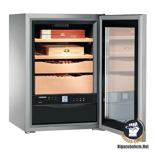 Tủ giữ ẩm xì gà bằng điện Liebherr zkes 453 - xigacubahcm.net
