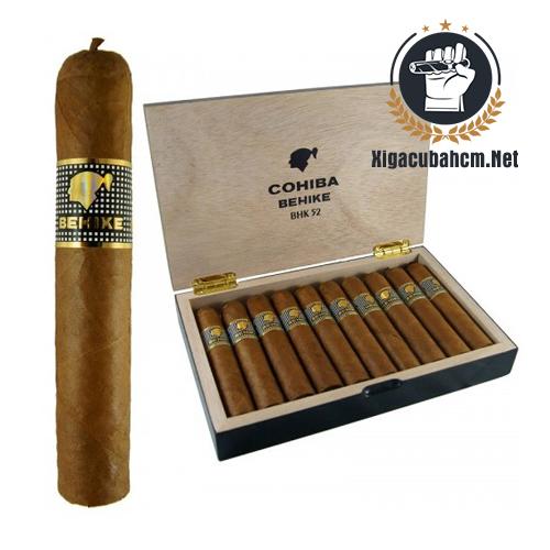 Xì gà Cohiba Behike 52 – Hộp 10 điếu - xigacubahcm.net