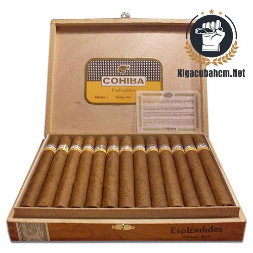 Xì gà Cohiba Esplendidos – Hộp 25 điếu - xigacubahcm.net