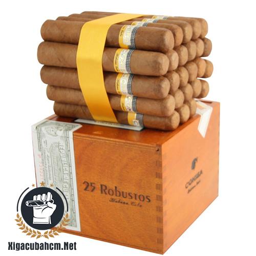 Xì gà Cohiba Robustos – Hộp 25 điếu - xigacubahcm.net