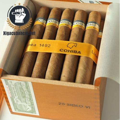 Xì gà Cohiba Siglo VI – Hộp 25 điếu - xigacubahcm.net
