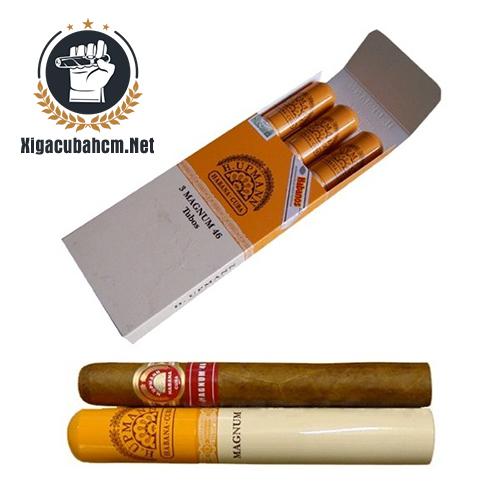 Xì gà H.Upmann Magnum 46 Tubos – Hộp 03 điếu - xigacubahcm.net