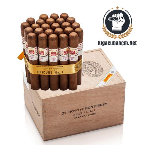Xì gà Hoyo De Monterrey Epicure No.1 – Hộp 25 điếu - xigacubahcm.net