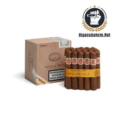 Xì gà Hoyo De Monterrey Epicure No.2 – Hộp 25 điếu - xigacubahcm.net
