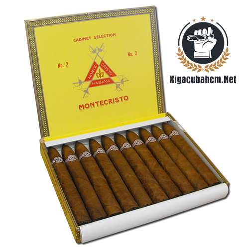 Xì gà Montecristo No.2 – Hộp 10 điếu