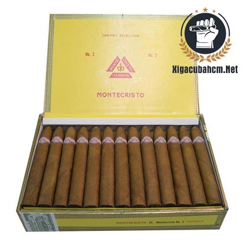 Xì gà Montecristo No.2 – Hộp 25 điếu - xigacubahcm.net