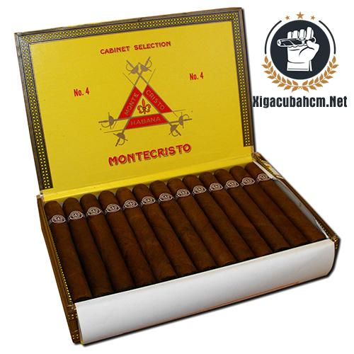 Xì gà Montecristo No.4 – Hộp 25 điếu - xigacubahcm.net