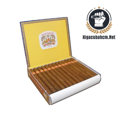 Xì gà Partagas Lusitanias - Hộp 25 điếu - xigacubahcm.net