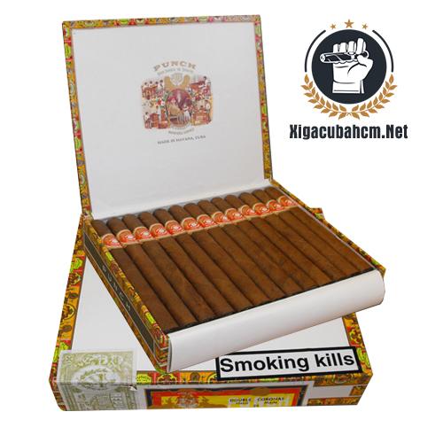 Xì gà Punch Double Coronas - Hộp 25 điếu - xigacubahcm.net
