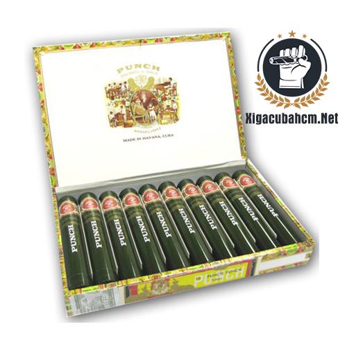 Xì gà Punch Punch Tubos - Hộp 10 điếu - xigacubahcm.net