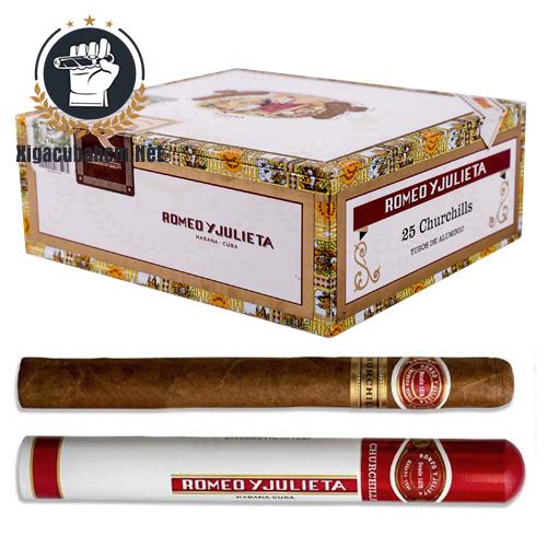 Xì gà Romeo Y Julieta Churchills - Hộp 25 điếu - xigacubahcm.net