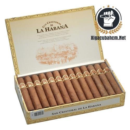 Xì gà San Cristobal La Fuerza – Hộp 25 điếu - xigacubahcm.net