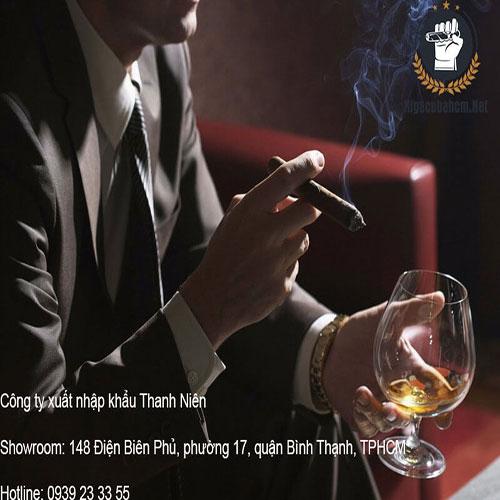 hút xì gà có tác dụng gì