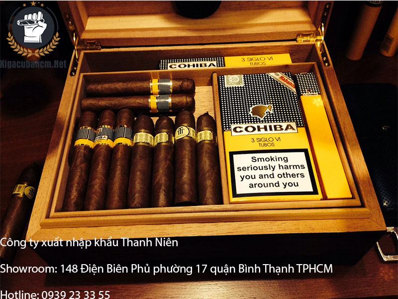 hộp bảo quản xì gà